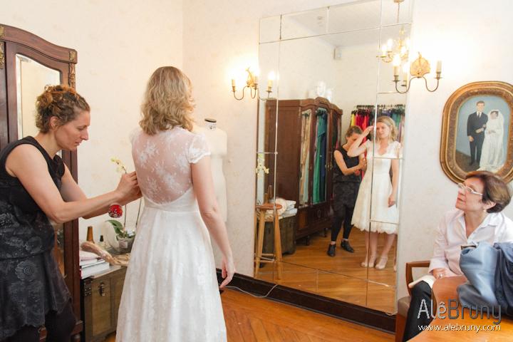 Prova do vestido – Tatiana e Thiago